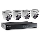 Hikvision Analoge 4 kanaals DVR set